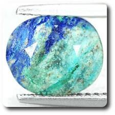 AZURITE Chrysocolla (gold-solder) Ténorite. 2.45 cts. Madagascar
