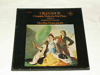 GRANADOS Complete Works for Piano Volume 1 Vox 3-LP BOX Records MARYLENE DOSSE