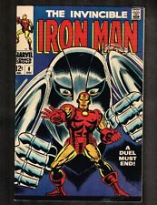 Iron Man #8 - Duel Must End! - 1968 (Grade 8.0) Wh