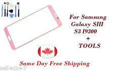 Pink Replacement LCD Front Glass Lens Samsung Galaxy S3 i9300 T999 NEW + Tools