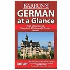 German At A Glance: Foreign Language Phrasebook & Dictionary (at A Glance Ser...