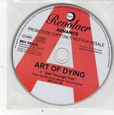 (DS419) Art Of Dying, Get Through This - 2007 DJ CD