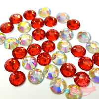 300 pcs 4mm Resin round Rhinestones Flatback Mix COLOR Hyacinth + Crystal AB