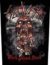 Slayer-World Painted Blood schiena ricamate patch BACK