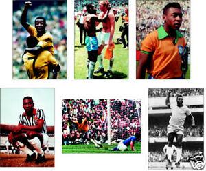 Pele World Cup Winner Brazil 6 Card  POSTCARD Set
