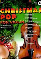 Violine Noten : Christmas POP for Violin - Weihnachten - leicht - leMittel