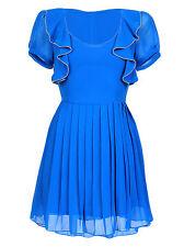 Chiffon Short Sleeve Mini Dresses for Women