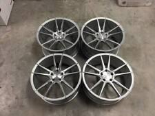 "20"" Veemann V-FS24 Wheels Silver / Machined BMW 5x120 E90 E91 E92 E93 F10 F11"