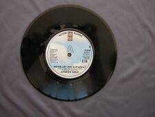 """SG 7"""" 45 rpm 1978 ANDREW GOLD - NEVER LET HER SLIP AWAY / LOOKING FOR MY LOVE"""