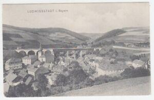 Ansichtskarte Bayern   Ludwigsstadt  Eisenbahnbrücke