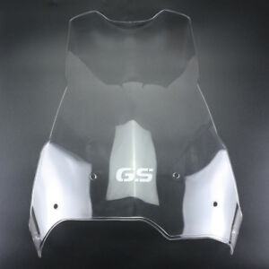 "+4"" Transparent Clear Windshield Windscreen For BMW F800GS F650GS 2008-2016"