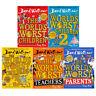 David Walliams World's Worst Children 5 Books Collection Set Worlds Worst Parent
