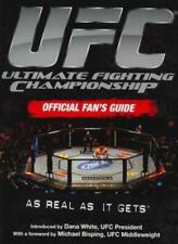 UFC Ultimate Fighting Championship Official Fan's Guide By Anthony B. EVANS & T