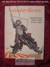 Saturday Review April 3 1954 EMMETT KELLY JEROME H. SPINGARN GORHAM MUNSON