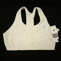 New Reebok Womens Techfit Powerlifting Training Crossfit White Bra Sz X-Large