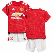 Adidas Infant & Baby Manchester United Football Home Baby Kit 2020-21