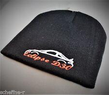 JDM gorra mitsubishi eclipse d30 logotipo Beanie negro bordado