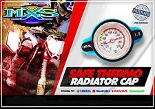 bouchon radiateur  avec thermometre pour moto YAMAHA WR YZ YZF 125/250/450