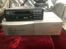 Sony Am-fm-cassette And Cd Changer With Cords Tested Working