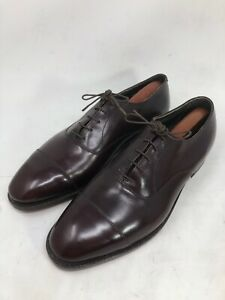 E.T. Wright Mens Shoes Burgundy Leather Size 11.5 C Narrow