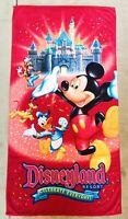 Disneyland Resort Beach Towel Celebrate Everyday Walt Disney World 2009 *RARE*