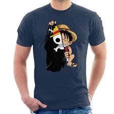 Monkey D Luffy Flag One Piece Men's T-Shirt