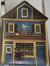 Bradford Exchange Plate - The Stoolpidgeon Gossip Shop - Wysocki Folktown 1996