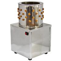 Geflügelrupfmaschine Rupfmaschine Nassrupfmaschine für Hühner u. Enten 30cm