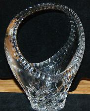 Samobor Lead  24% Crystal Hand Cut Bridal Basket