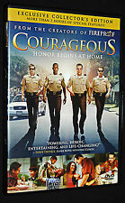Courageous ~ Honor Begins At Home (2012, DVD) Exclusive Collector's Edition