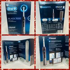 Oral-B Pro 7000 SmartSeries Electric Bluetooth Toothbrush,Black Rechargeable NEW