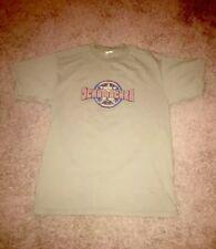 Mens Tony Schumacher Army Green Racing T Shirt Tee Size Large