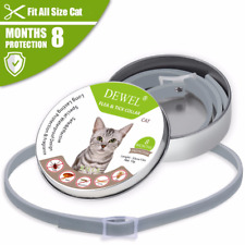Dewel Flea and Tick Collar For Cat Cheaper than Seresto! Guard Us Stock Usps!