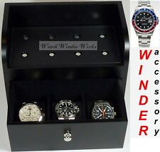 Base Station for 2 shelf bricks+3 compartments for Brick Automatic Watch Winders