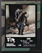 """VERLINDEN 1268 - """"THE RESCUE"""" WWII -  1/35 RESIN KIT NUOVO"""