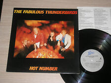 THE FABULOUS THUNDERBIRDS - HOT NUMBER - LP 33 GIRI HOLLAND