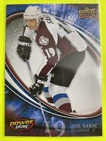 2008-09 Upper Deck Powerplay #17 Joe Sakic Colorado Avalanche