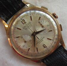 Eridas Medical Chronograph mens wristwatch gold filled case 38 mm. in diameter
