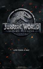 JURASSIC WORLD FALLEN KINGDOM MOVIE POSTER 2 Sided ORIGINAL Advance  27x40