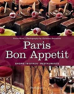 NEW - Paris Bon Appetit by Pierre Rival - Shops, Bistros, Restaurants – Sealed