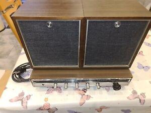 Teleton R 8000 Tuner Radio Stereo Hifi Top Zustand mit Boxen