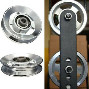 88mm Bearing Pulley Wheel Cable Fitness Gym Equipment Climbing Camping Pulley