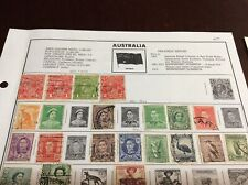 195 stamps from Japan, and Australia