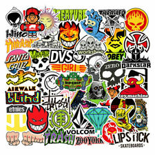 100PCS Skateboard Stickers Bomb Luggage Laptop Graffiti Tide Brand Decals Pack