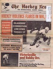 The Hockey News April 30 1976 Garry Howatt Bobby Orr