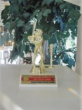 T-Ball Baseball Trophy Trophies Male Or Female Team Color & Free Lettering!