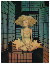 Audrey Kawasaki Wandering Star unframed Zine page: Frame it any way you want!