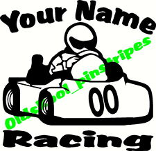 🏁 Customized racing quarter midget go kart Clone Briggs vinyl decal sticker