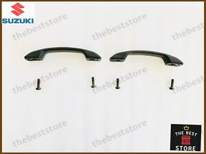 OEM SUZUKI SAMURAI SJ413 INTERIOR DOOR HANDLE PULLS LEFT + RIGHT SIDE( SET OF 2)