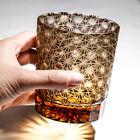 J22 Japanese edo kiriko whisky glass cup hand-carved wine glass